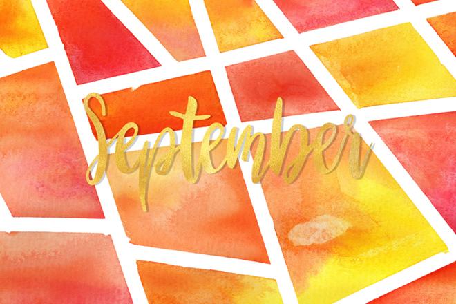 Herbstfarben – September Wallpaper