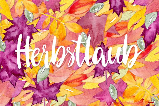 Herbstlaub – Oktober Wallpaper