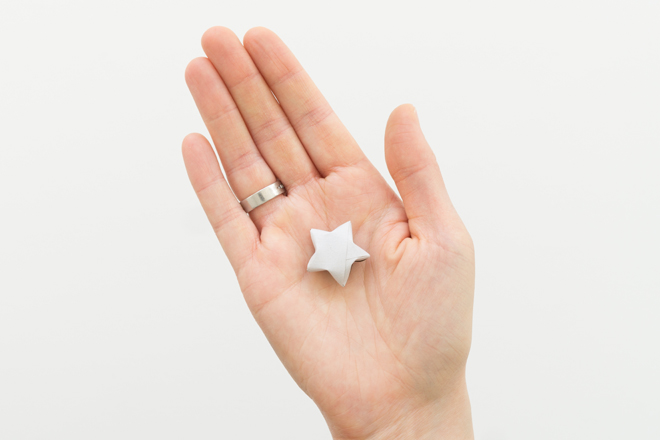 Lucky Stars Anleitung: DIY Anleitung Schritt für Schritt gefalteter Lucky Star