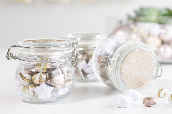 Lucky Stars Anleitung: DIY Anleitung Schritt für Schritt für einen kleinen Sternengruß im Einmachglas