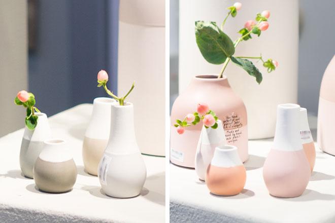 Dekoideen 2018 mit Mini-Vasen von räder von der Ambiente
