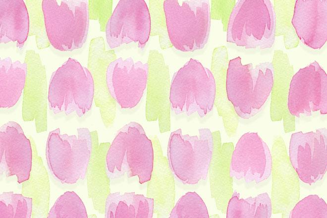 Frühlingsboten Tulpen als Wallpaper für den März