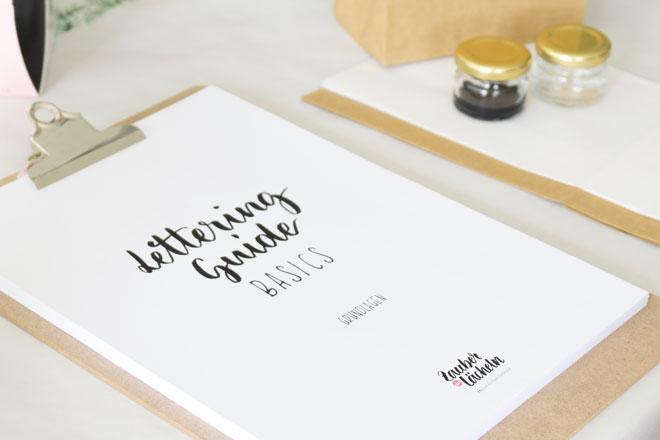 Impressionen von meinem ersten Lettering Workshop