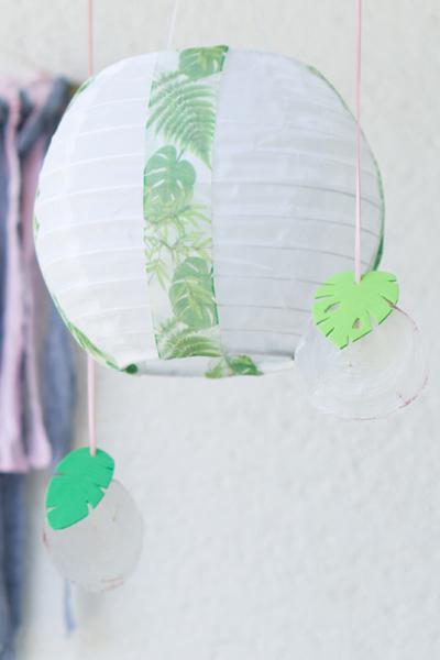DIY | Gartendeko selber machen: Tropical Vibes Anhänger