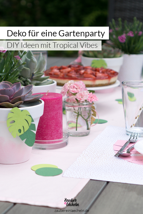 Party Deko Fur Eine Gartenparty Im Tropical Vibes Look