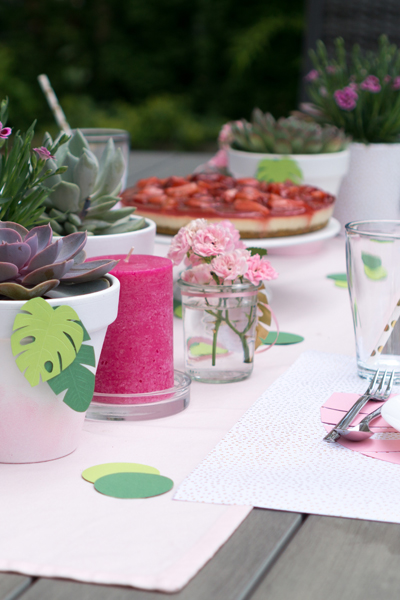 Inspiration | Party Deko für eine Tropical Vibes Gartenparty