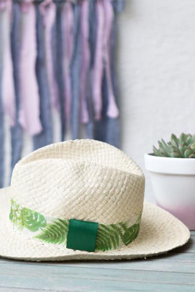 DIY | Sommer Accessoires selber machen: Strohhut dekorieren
