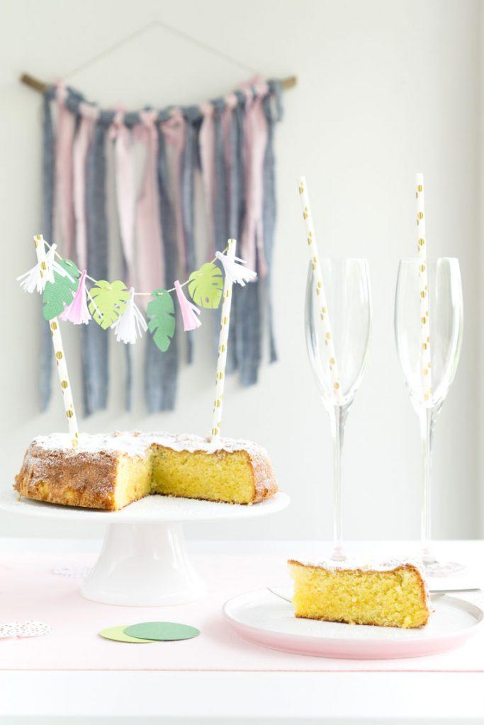 DIY-Idee mit Anleitung und Vorlage Cake Topper selber machen