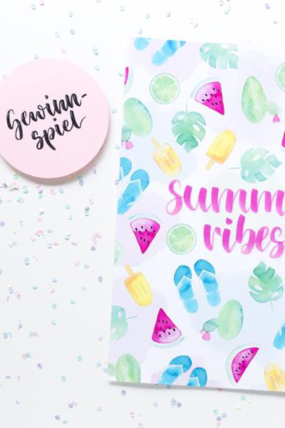 Gewinnspiel | Gewinne ein Summer Vibes Poster