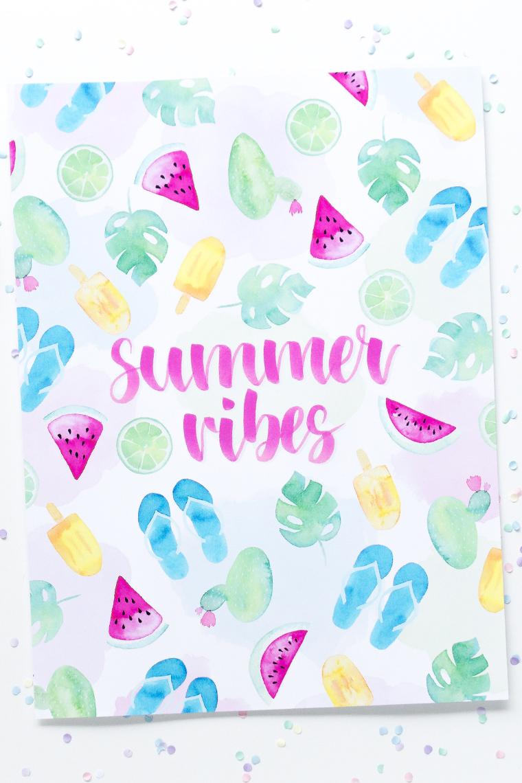 Gewinnspiel summer vibes Poster
