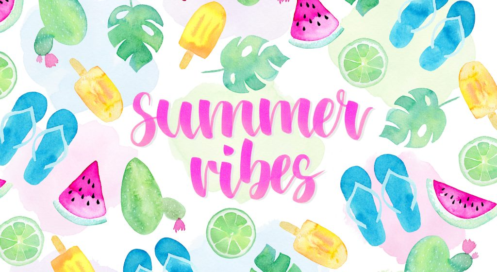 Summer Vibes Wallpaper: Sommer-Wallpaper zum Download