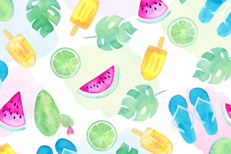 Vorlagen & DIY-Ideen für den Sommer & Sommerpartys
