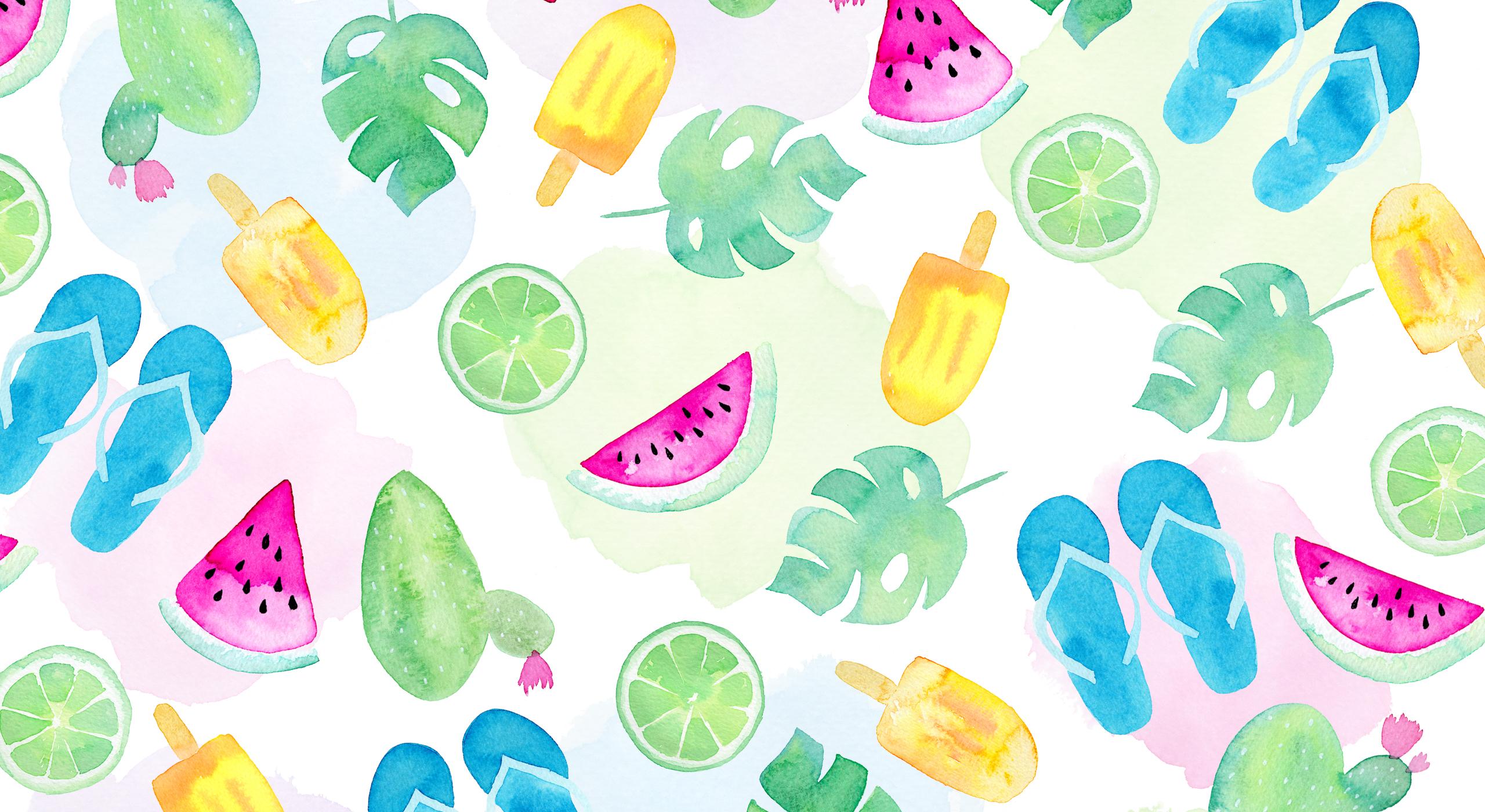 Summer Vibes Wallpaper: Damit die Sommer-Stimmung noch ganz lange bleibt