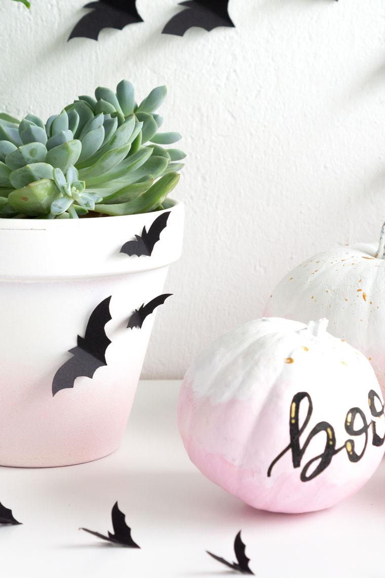 Elegant und gruselig DIY Halloween Deko