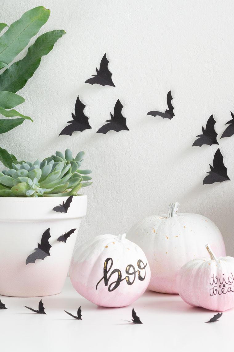 Schön schaurige DIY-Deko für Halloween