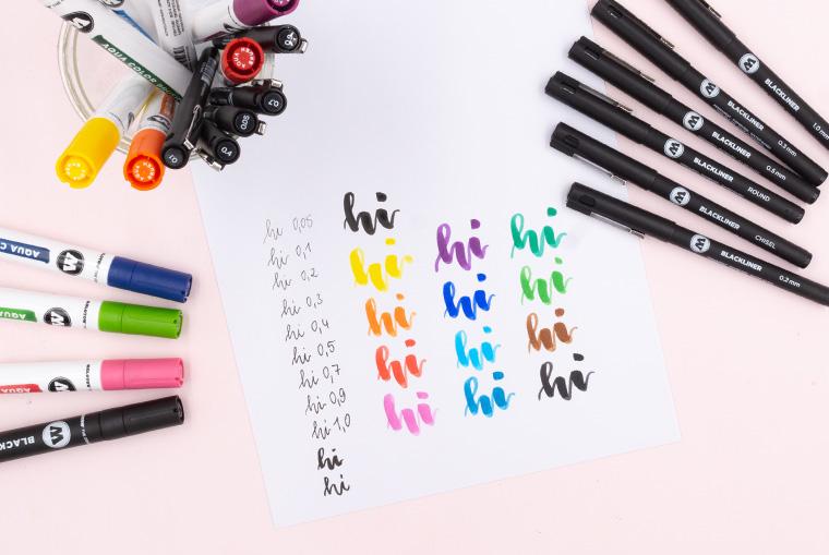 Neue Lettering Stifte von Molotow im Überblick