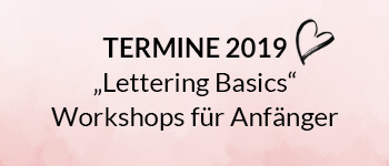 Lettering Basics Workshops