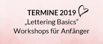 Lettering Basics Workshops
