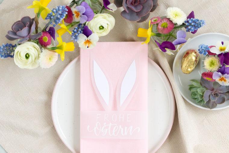 Zauberhafte Tischdeko für Ostern selber machen
