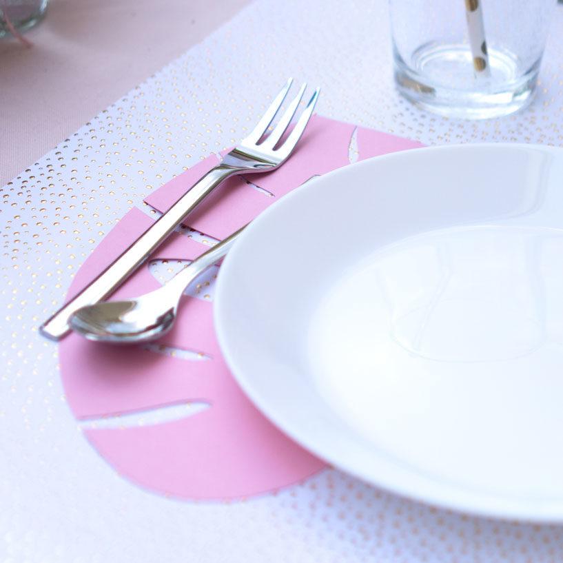 DIY-Vorlage: Monsterablatt Tischset