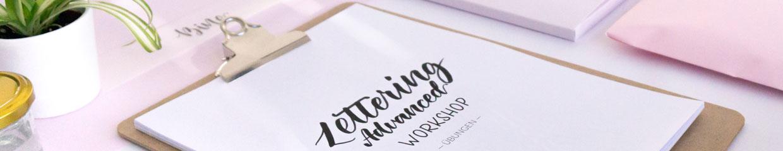 Lettering Advanced Workshops von Zauber ein Lächeln