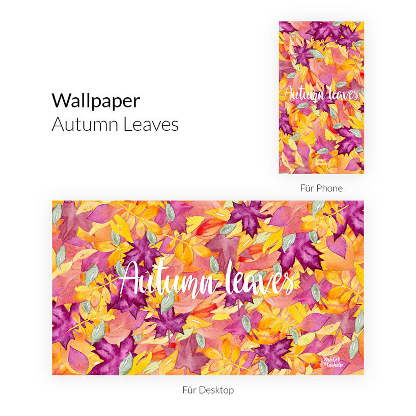 Kostenloses Wallpaper Autumn Leaves Phone & Desktop