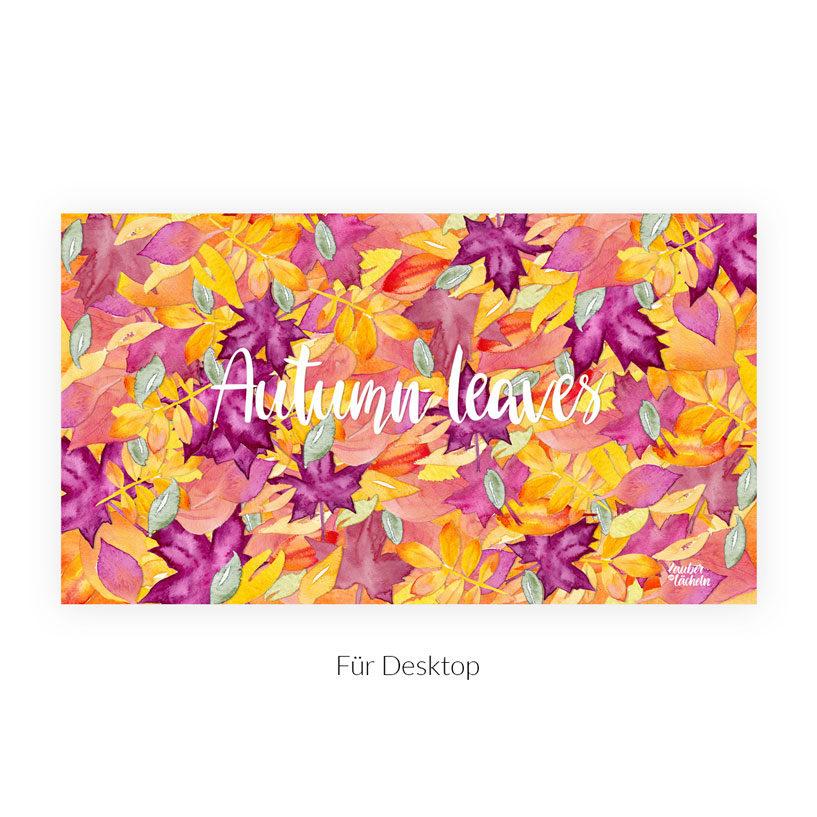 Kostenloses Wallpaper Autumn Leaves Desktop