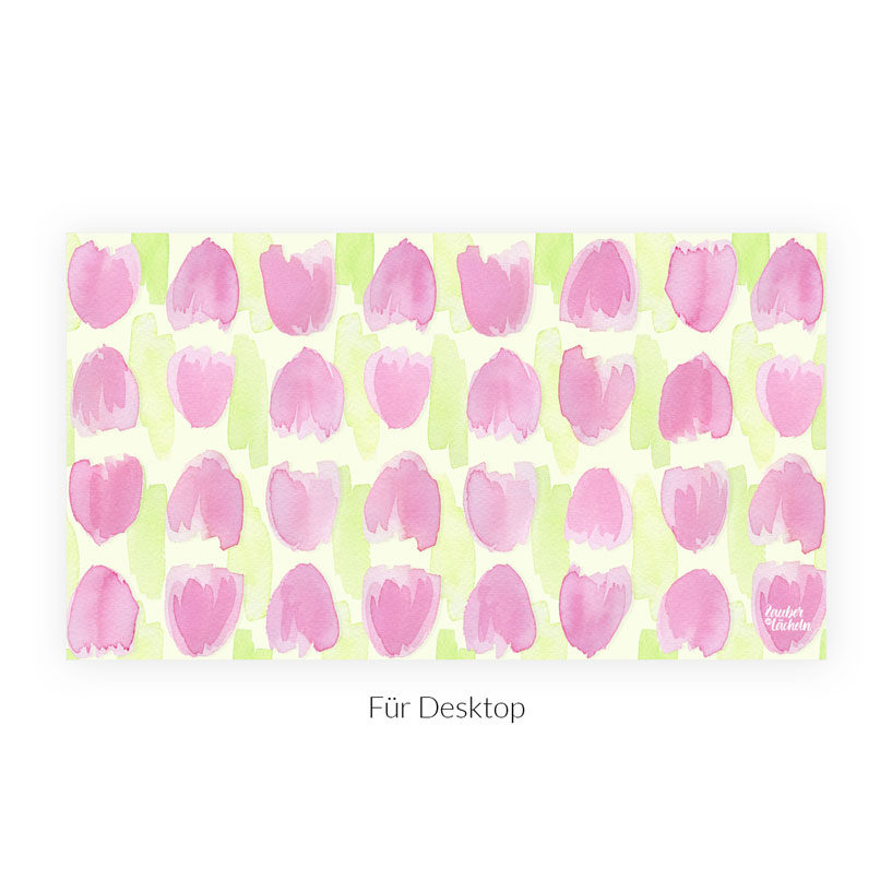 Wallpaper Frühlingsboten Tulpen Dekstop