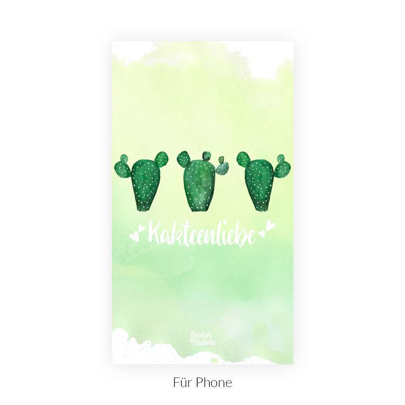 Wallpaper Kakteenliebe Phone