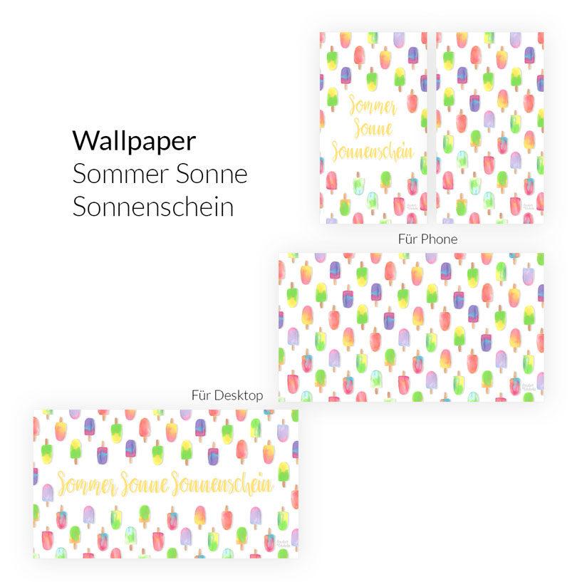 Wallpaper Sommer Sonne Sonnenschein Desktop & Phone
