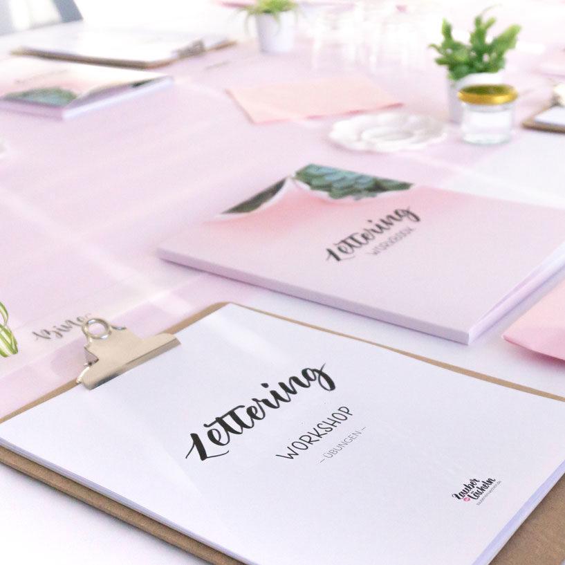 Lettering Workshop Hochzeitssepcial
