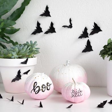 Halloween Deko basteln: Schaurig schöne DIY Ideen