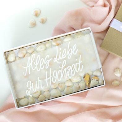 Hochzeitsgeschenke: DIY Ideen für Hochzeitsgeschenke