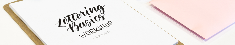 Lettering Basics Kompaktworkshop