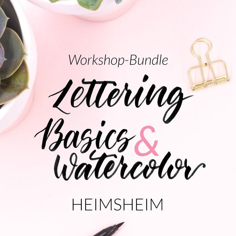 Workshop Bundle Basics & Watercolor